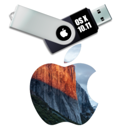 Mac OS X 10.11 El Capitan usb installer disk