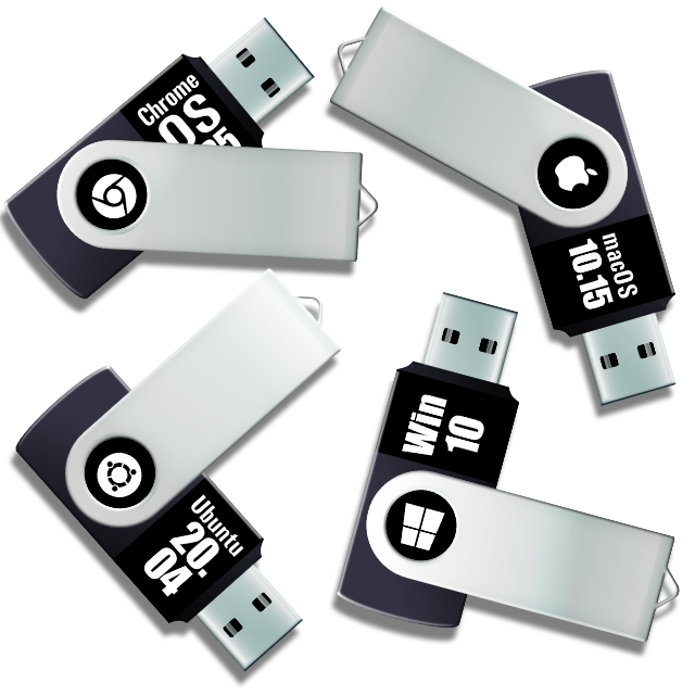 Some USB installer disks